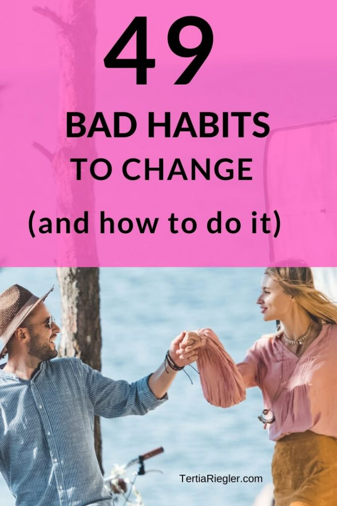 We often fail to change bad habits because we try to change our behavior without changing our thinking. Bad habits are self-defeating behavior which hold you back from reaching your full potential