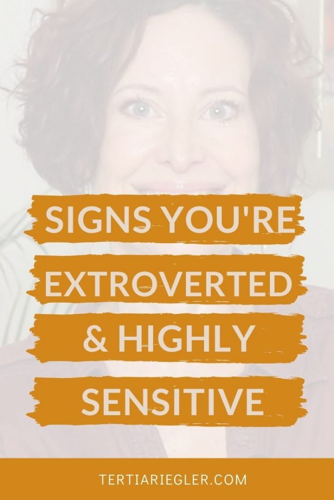 5 Signs That Show You're A Highly Sensitive Extrovert | The Highly Sensitive Person (HSP) If you're not sure if you're a highly sensitive person because you're extroverted,  in this video I share 5 signs that show you're an extroverted HSP.  HSPs can be either introverts or extroverts even though not all highly sensitives know this! I hope this video will help clear up the conflicts that you might experience because of these 2 almost opposite forces, being both sensitive and easily overwhelmed by your experiences.