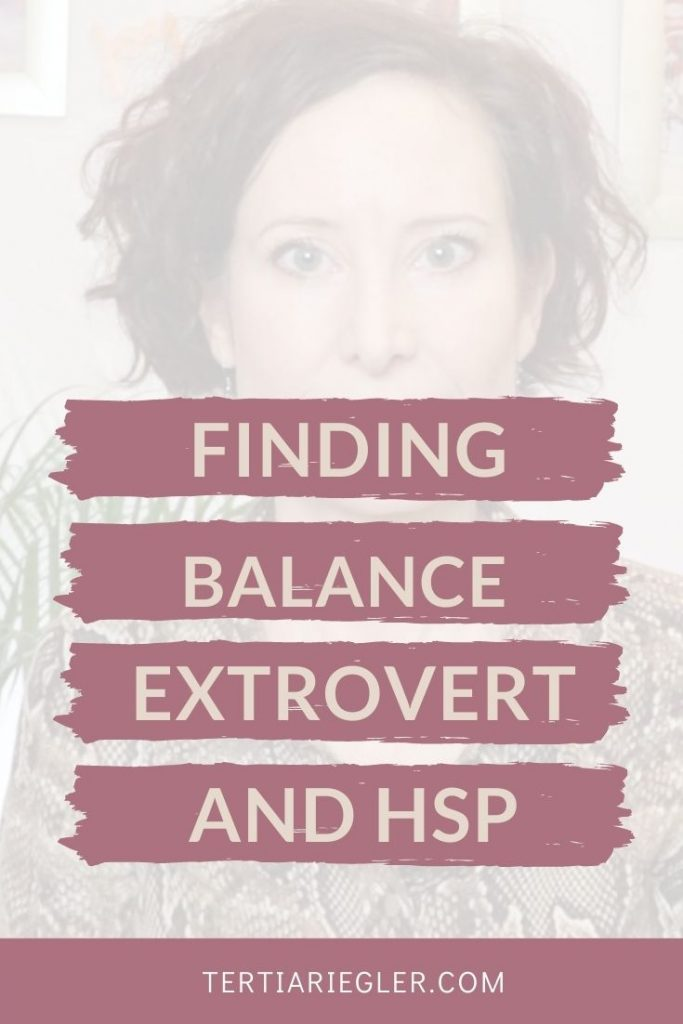 Being both an extrovert and a highly sensitive person is full of contradictions.  To really thrive as an extroverted HSP, you have to find the balance between overstimulation and under-stimulation. In this video you will learn about 2 of the main challenges of being a highly sensitive extrovert and some ideas on how to manage that.