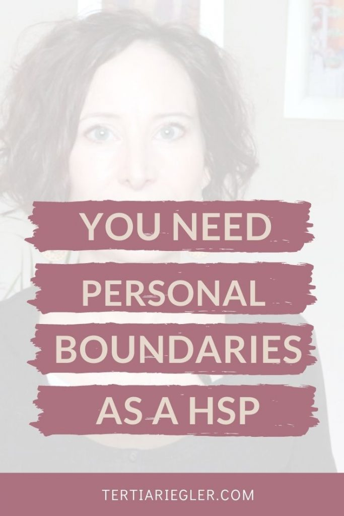 Setting personal boundaries is often one of the more difficult challenges of being a highly sensitive person.  Some of us have never been taught how to set and uphold our boundaries.  Highly sensitive people  also sometimes struggle with issues around people-pleasing and avoiding conflict, which makes having personal boundaries harder.  In this video I talk about some of those challenges and give you 3 tips on how to set boundaries as a HSP.